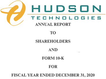 Hudson Technologies Annual Shareholder Report